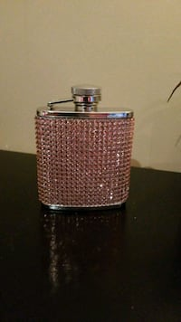 Pink Bedazzled Flask