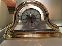 Gold glass clock Vaughan, L4H 3P6