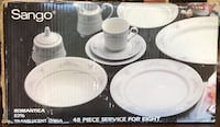 Sango 48 piece China set  Bristow, 20136