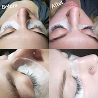 Classic Eyelash extensions read description  Edmonton