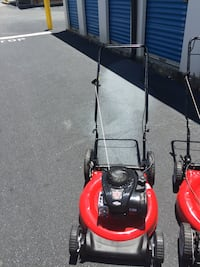 red and black push mower Lawrenceville, 30045
