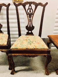 Two Chippendale Side Chairs Gastonia, 28056