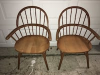 Solid wood dining room chairs  Sarasota, 34241