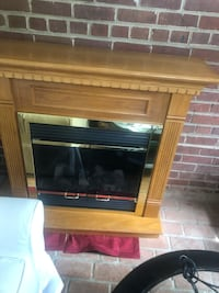 Hardwood Oak Electric Fireplace   Alexandria, 22314