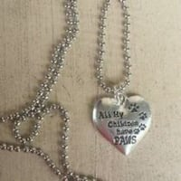 All my children have Paws necklace Christmas 539 mi