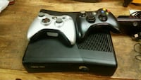 black Xbox 360 console with two controllers Anderson, 29621