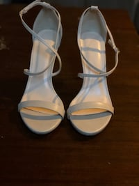 MUST GO Nude Strappy Heels - Size 9 Milwaukee, 53224
