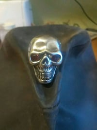 silver-colored skull ring! This ring cost$160.00  Cincinnati, 45218