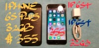 $355FIRM IPHONE 6S PLUS 32GB VeryGood Cond.+charg Pointe-Claire, H9R 3A3