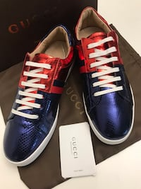 Gucci Ace Vintage Unisex Size 43/ Silver Spring, 20904
