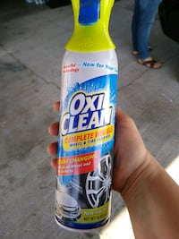 Oxi clean wheel cleaner