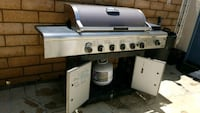 BBQ with tank. $60.00 OBO