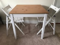 IKEA Table and 2 chairs Occoquan, 22192