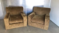 Two chairs (for sale together ) Rockville, 20850