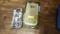 two gray and yellow smartphone cases Oklahoma City, 73107