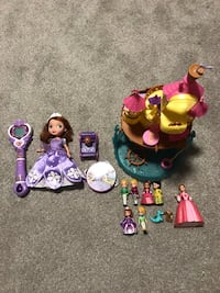 Sofia the First toys bundle