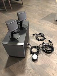 black and gray corded device 3749 km