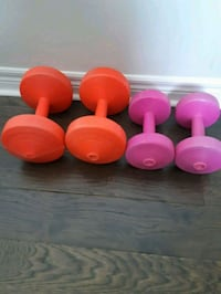 10 and 5 lb dumbells Aurora, L4G 7C4