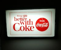 Things go Better with coke signage