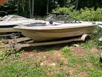 18ft boat trailer the boat is free it's 16ft
