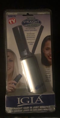 Hair straightener: new in packaging