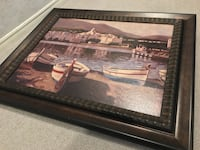 Large framed print or painting, not sure... From 2003. 537 km