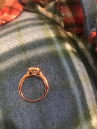 4 ct cz in rose gold size 8 Evensville, 37332