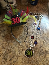 30 hat head band and necklace Rio Rancho, 87124