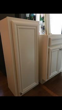 White wooden cabinet!!