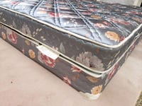 Queen mattress 120 box. Box 30  delivery 30 very c Edmonton, T5G 0X1