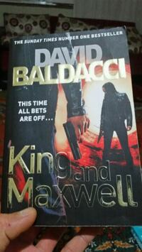 DAVID BALDACCI- KING AND MAXWELL