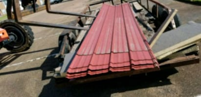 Used metal panels