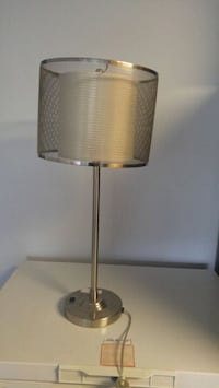 Beautiful silver table/bedside table lamp Calgary, T3H