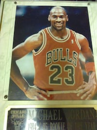 Michael Jordan plaque Laurel, 20708