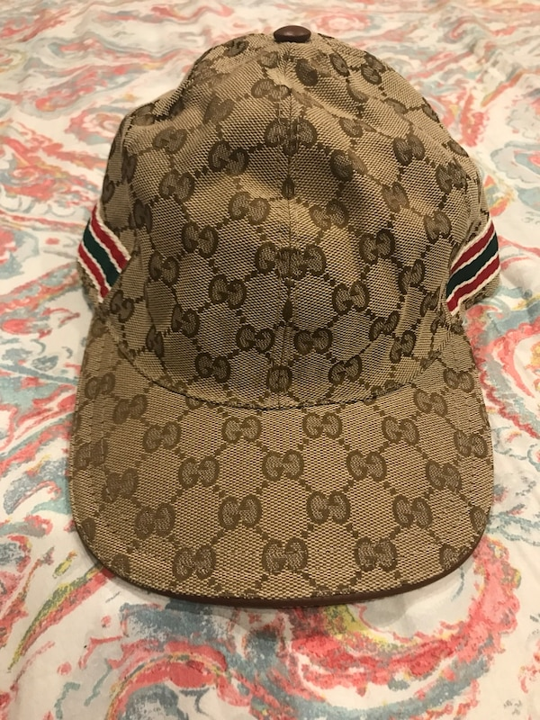 Used Brown gucci cap for sale in New York - letgo 84e202054fd