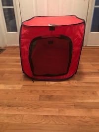 Black & Red Pet Tent/Kennel Wake Forest, 27587