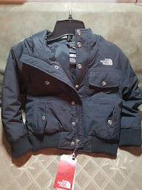 blue The North Face button-up jacket Toronto, M9V 3S5