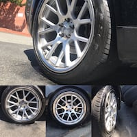 """20"""" VOSSEN CV2 IN GREAT CONDITION """"20 OFF A G37 COUPE Pittsburg, 94565"""