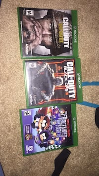 three assorted Xbox One game cases Henderson, 89011