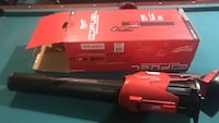 red and black Milwaukee leaf blower with box Calgary, T3C 0K7