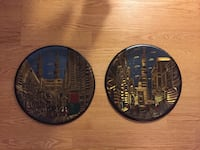 two assorted decor plates Laval, H7N 1A9
