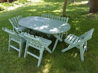 Picnic Table with 6 chairs 48348