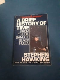 A Brief History of Time - Stephen Hawking  Carrying Place, K0K 1L0