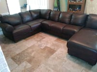 Divani italian leather sectional FREE DELIVERY!!! Tampa, 33610