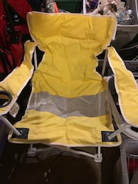 yellow and black camping chair Stockton, 95206
