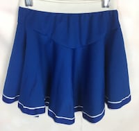 Cheerleader Skirt Blue Costume Girls Bottom Only Stretch SMALL Chicago, 60625