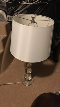white and gray table lamp Kingston, K7P 0E8