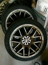 Xxr Rims with tires Newmarket