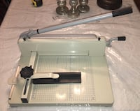 """12"""" Heavy Duty Manual Guillotine Paper Cutter Trimmer Henderson, 89074"""