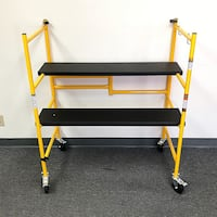 "New $70 Heavy Duty Steel Folding Scaffold Step Ladder - 500lbs Capacity 39""x22""x46"" South El Monte"